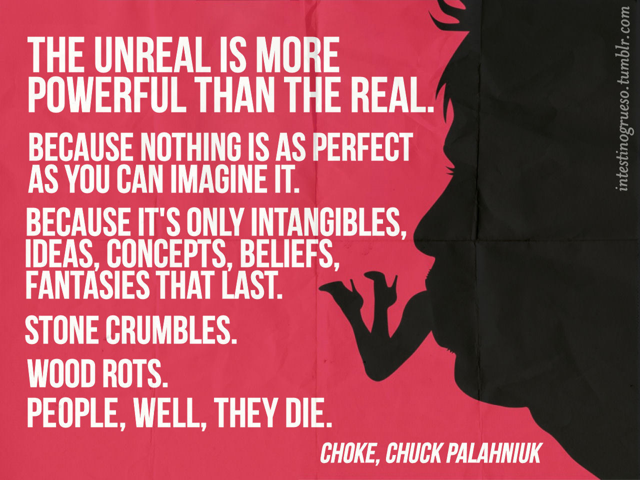Just Finished: CHOKE | Chuck Palahniuk