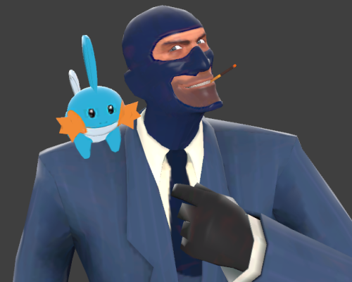 So I heard you like Mudkipz? I found this from my tf2 models folder. I remember I saw it in one server ages ago, and I was really amazed by it:  It's head and tail wiggle cutely when moving. lkjsfdg dis game man.