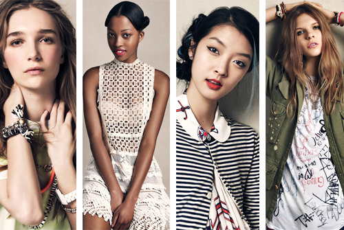 teenvogue:  Supergirls! Meet four new fashion models who are poised to go the distance. Get to know Janice Seinen, Nyasha Matonhodze, So Young Kang, and Kat Hessen »