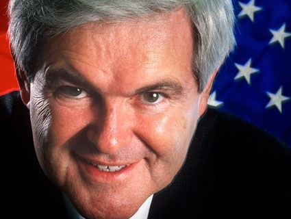 "motherjones:  The Newt Testament Your guide to Gingrich's greatest rhetorical hits over the last 33 years. Now with more Hitler/Munich analogies!  We have to add another to MoJo's great collection.  It's from back in 87 during the Iran Contra hearings - when Oliver North was on for hours. Now this is when Reagan funded terrorists in Central America with moneys derived from helping Iran during its war with Iraq (assisted much more explicitly). In an amazing example of pernicious verve, we have sophistry essentially revealing itself as sophistry:  One Marine Lieutenant Colonel had more courage than every Chief Executive officer of the Fortune 500 combined.  People were tuning in for hours, more than they watched soaps, more than they watch situation comedies.  Increased total ratings for day-time television by 10% … because they were fascinated by the drama. And I've suggested strongly to the White House - The country will believe the drama in which we point a finger and say ""these people want to take us down the road of European socialism, these people are the intellectual parallel to the German socialist party…""  … see more Newt gems at Mother Jones"