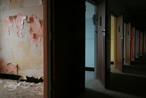 smacknally:  patient ward. abandoned psychiatric hospital.