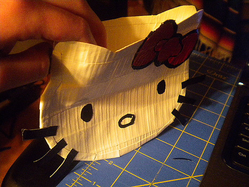 Duct Tape Hello Kitty  Wallet