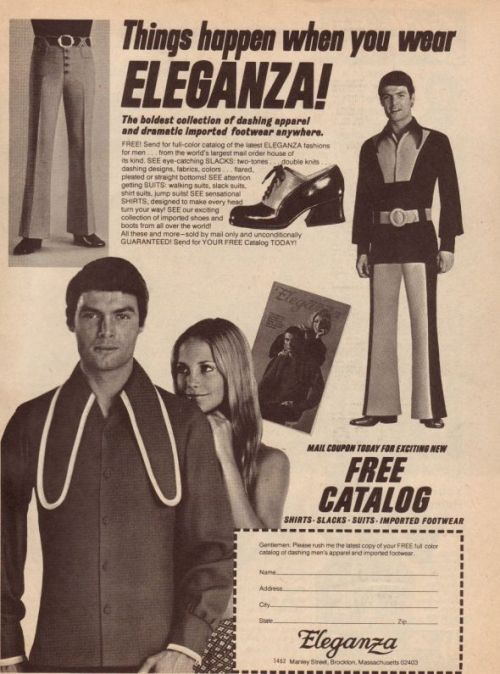 Things happen when you wear ELEGANZA!