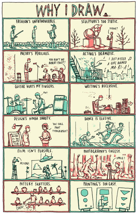 Why I Draw by Grant Snider