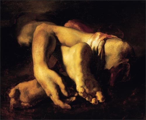 zurv:Théodore Géricault, Study of Severed Limbs, 1818