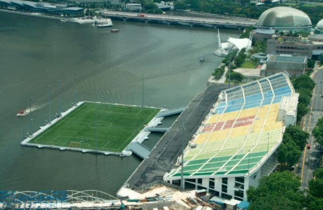 Marina Bay Stadium, Singapore.
