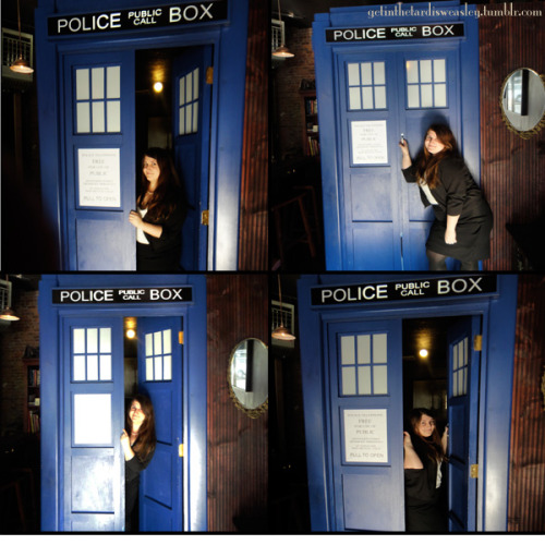 musicalnrdfghtr:  getinthetardisweasley:  Me in the TARDIS at The Way Station Bar, Brooklyn NY. Yeah, it's bigger on the inside. It's a bathroom.   SHSAHSAHJDJHADDGSIOFHKASDHKL I AM SO GOING TO THAT BAR THE NEXT TIME I GO TO NY.  JUST FOR THAT BATHROOM.  VFBDHASFBSDKA NEED. TO. GO. TO. THIS. BAR. HOLY. FUCKING. SHITBALLS.