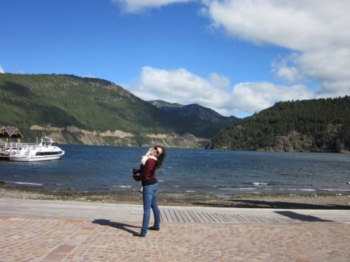 a picture of me in San Martín de los Andes in Patagonia. I will upload more photos later!