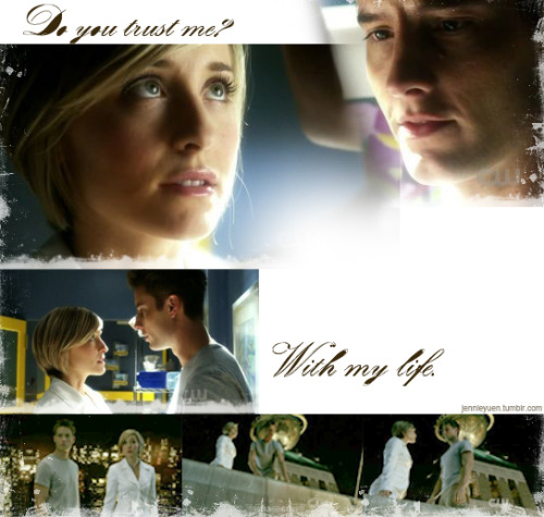 "jennieyuen:  Smallville 10.12 ~ Collateral | #Chlollie Chloe: ""Do you trust me?"" 