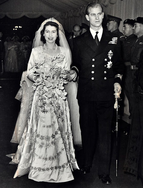 royalweddings:  Queen Elizabeth II on her wedding day. untitled on Flickr.    Happy 85th Birthday, Queen Elizabeth!The Daily Beast has a gallery of the Queen's life in photos.  » For more royal remembrances, check out Trove's British Royal Family channel.