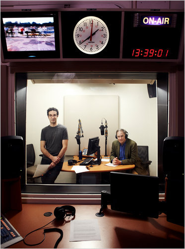 newzed:  The Obsessive Pleasures of 'Radiolab'  I'm obsessed with this podcasting series. Have I mentioned that yet? Keep questioning,Sara