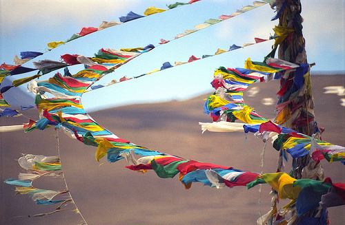 goodmemory:  prayerflags:  (by reurinkjan)