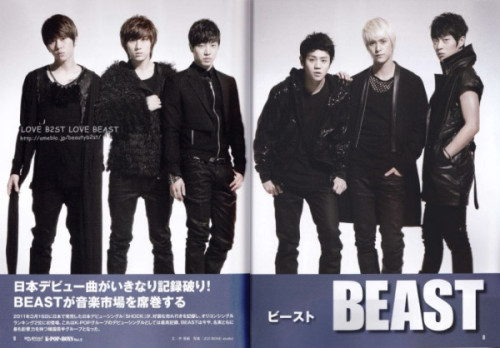 BEAST IS THE B2ST !