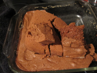 ugh..i don't know what happened. these brownies came out a cakey spongy mess. They weren't even sweet. just complete rubbish. i trashed them right away. they were still hot.