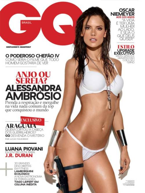 Alessandra Ambrosio for GQ Brazil