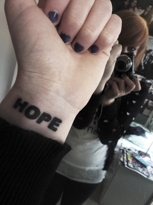 HOPE - inspired by The Blackout's album.