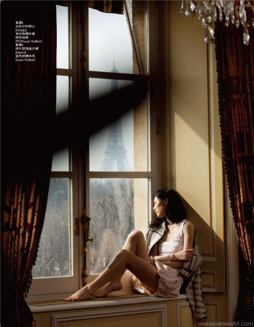 Liu Wen for Elle China