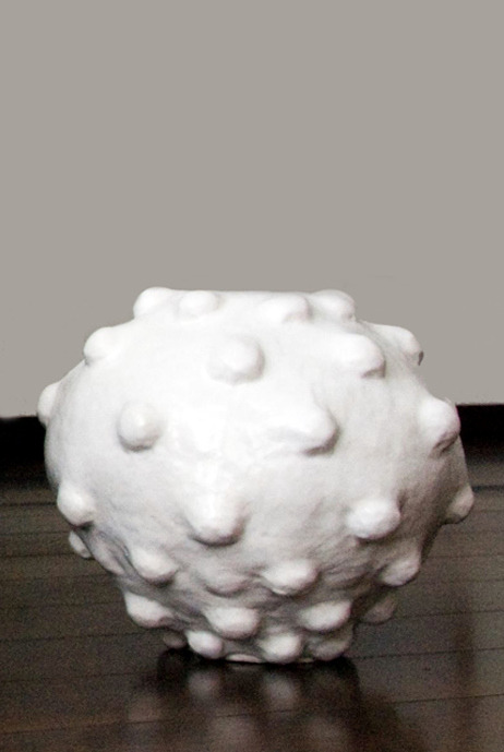 Abigail Simpson: White Bubble Vase