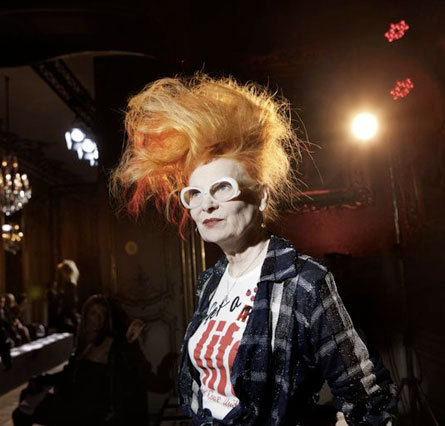 wornjournal:  HAPPY 70th BIRTHDAY VIVIENNE WESTWOOD.