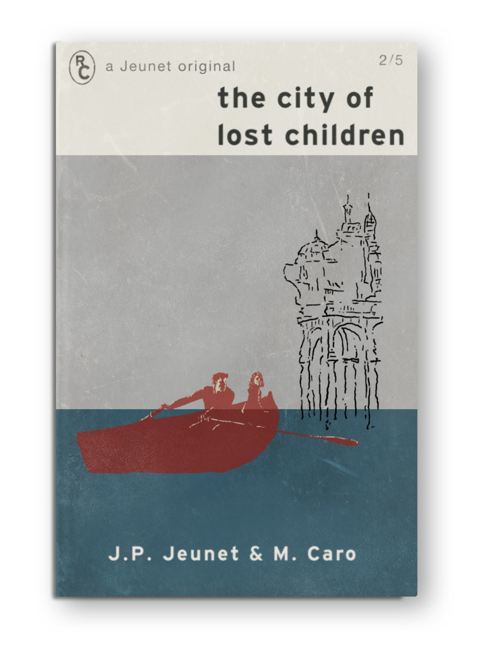 "Jeunet's ""The City of Lost Children"" as a Penguin Classic book. Inspired by the many other amazing Fake Cover interpretations (like this). Created in Photoshop. Check out this movie if you haven't seen it."
