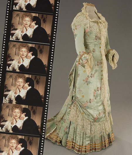 ornamentedbeing:  Countess Olenska's dress from The Age of Innocence . The movie is set in the 1870s.