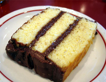 theonlycp:  Black man's kryptonite….CHOCOLATE YELLOW CAKE.    My favorite cake!