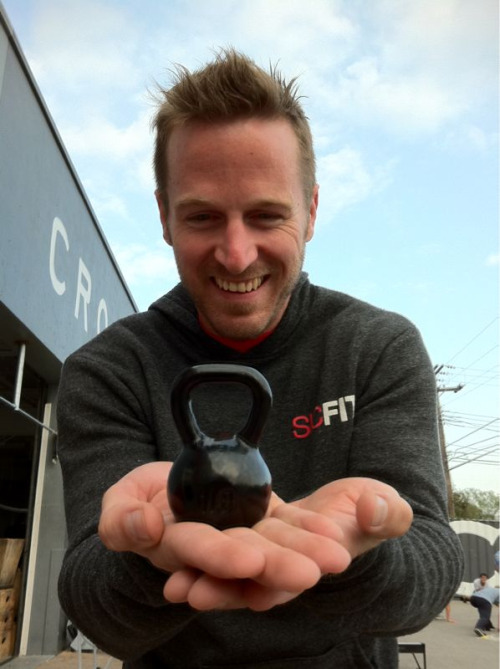 The cutest #Kettlebell in the history of the world!!