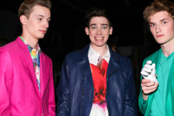 Linus, Cole & Charlie | Jeffrey Fashion Cares 2011