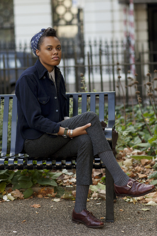 (via The Sartorialist: On the Street…Cross-Inspirational, London)