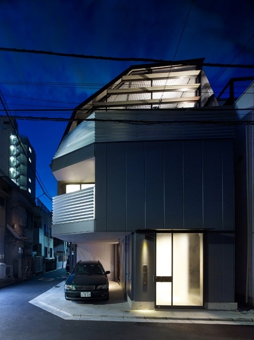 spatula:  (via Skim Milk: Mishima House by Keiji Ashizawa Design | Design Milk)