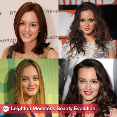 Leighton Meester's Hair and Makeup Over the Years