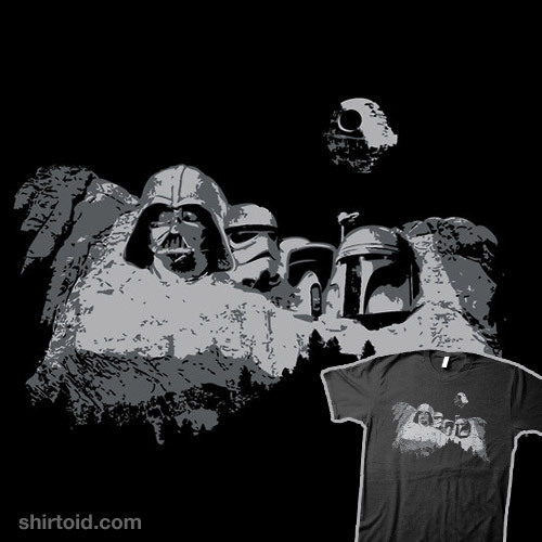 Empire Mount Rushmore available at RedBubble