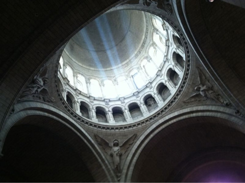 worldheritagesites:  Light in Sacre Coeur dome