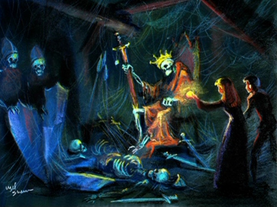 fancysomedisneymagic:  The Discovery Concept Art for The Black Cauldron