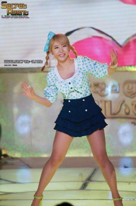 Hyosung, Zinger, Ji Eun o Sunhwa ¿Quien tiene las mejores piernas? Tumblr_lje3ya0FRR1qff6nr