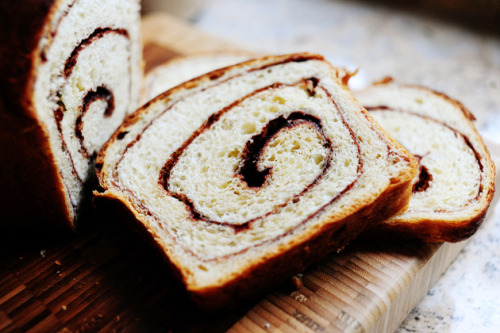 youcanalwaysgoyourownway:  Cinnamon Bread via the Pioneer Woman.