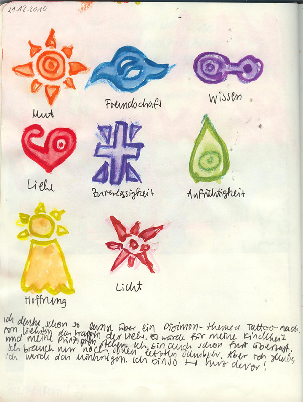 fuckyeahmoleskines:  Digimon Crests <3 davaj.tumblr.com