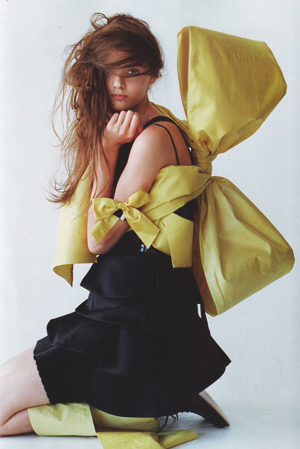 moldavia:  Masha Tyelna in i-D Magazine by Tim Walker