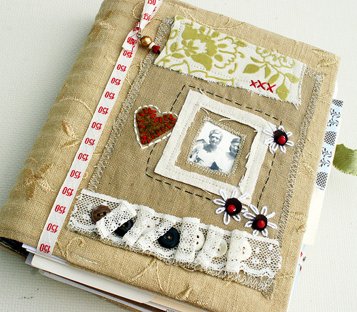art quilt journal (by Rebecca Sower)
