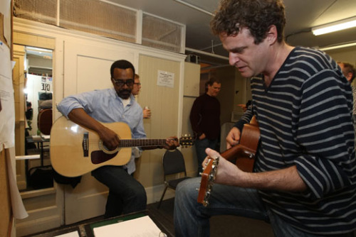 Courting Sketchfest: Tim Meadows and Matt Besser w/ guitars by. Jakub Mosur