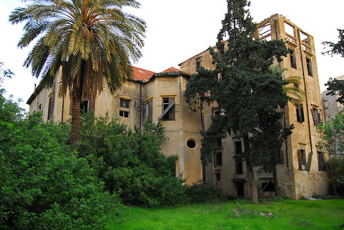 Abandoned Mansion - Beirut (by craigfinlay)