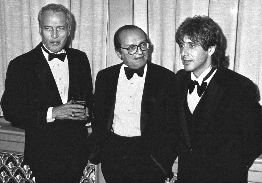 Sidney Lumet with Paul Newman and Al Pacino