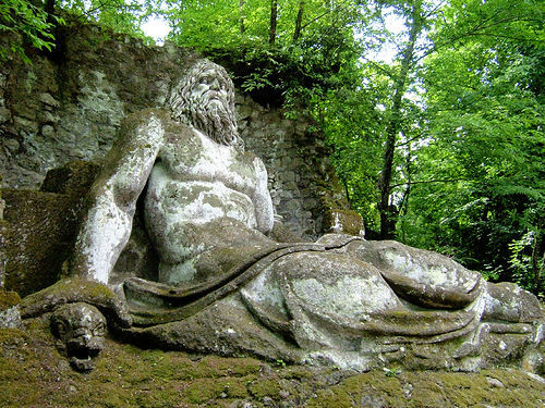 The Sacred Grove of Bomarzo #6 (by Andrea Marutti)