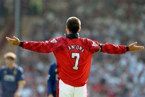 On the pitch, Eric Cantona is the definition of SWAG.