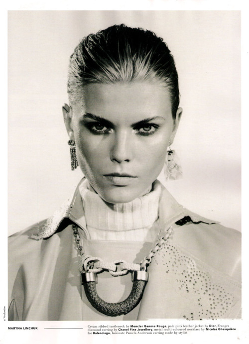Maryna Linchuk by Jamie Morgan, POP