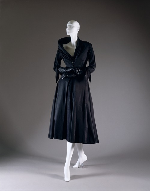 "Christian Dior ""Abandon"" dress ca. 1948 via The Costume Institute of the Metropolitan Museum of Art"