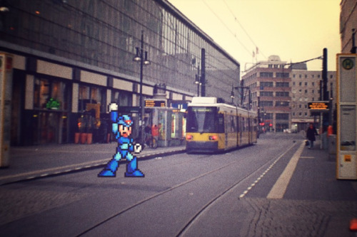 Mega Alexanderplatz Man - by zavadzky
