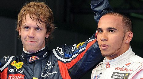 Its a big day for these two.  I hope Hamilton nails it.