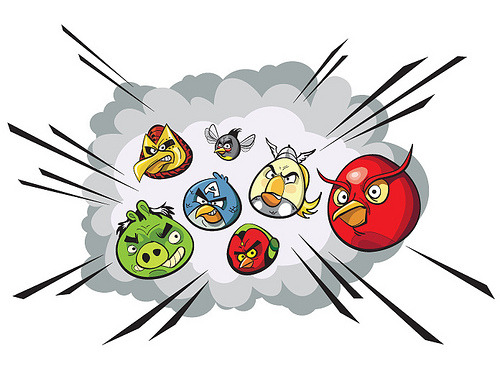gamefreaksnz:  Angry Birds Assemble! (by monkeyworks illustration)
