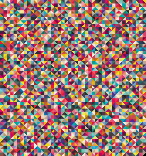 Andy Gilmore's colorful geometric patterns/compositions are fascinating—the crazy kaleidoscopic, pulsating beauty of them makes me a little dizzy.